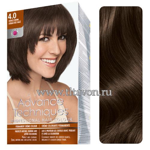 Краска для волос эйвон шоколадный