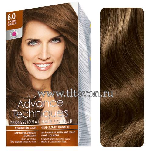 Цвет волос темно-коричневый краска